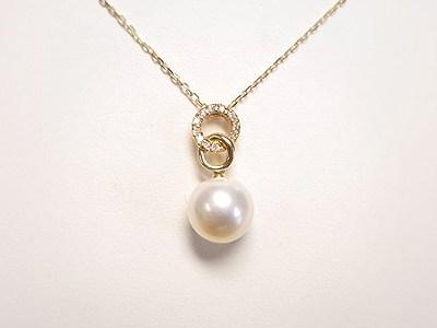 真珠のペンダントネックレスへのリフォーム【神戸 元町】