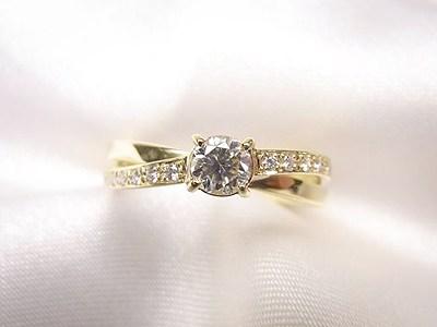 お母様のご婚約指輪をプレゼントされリフォーム【神戸 元町】