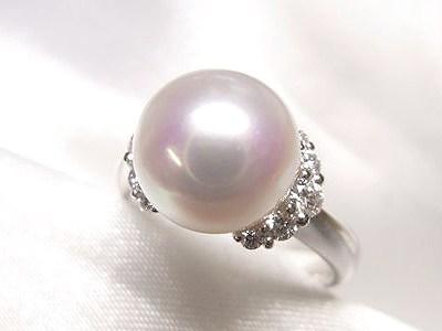 アコヤ真珠9mmUP♥︎気品あるかわいい真珠リングのオーダーメイド【神戸 元町】