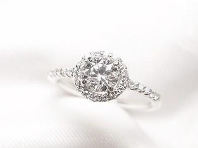 0.4ctUPダイヤモンドご婚約指輪をおしゃれな普段使いリングへリフォーム【神戸 元町】