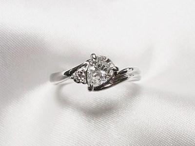 ご家族のオパールとペアシェイプダイヤモンドのリフォーム【神戸 元町】