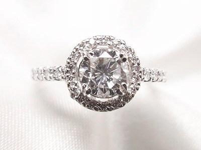 0.6ct立爪ダイヤモンドリングをキラキラ取巻きリングへリフォーム【神戸 元町】