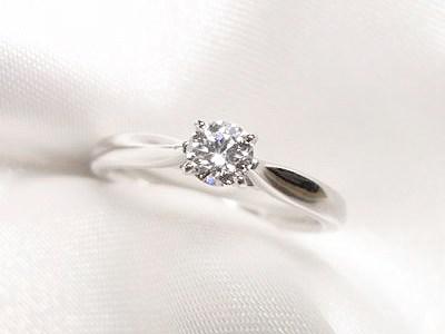0.2ctUP VVS1 3-EX 最高級ダイヤモンドでお作りしたご婚約指輪のご注文【神戸 元町】