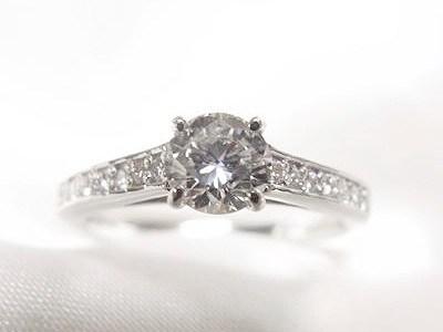 0.4ct立爪ダイヤモンドリングをカッチリ系カジュアルリングへリフォーム【神戸 元町】