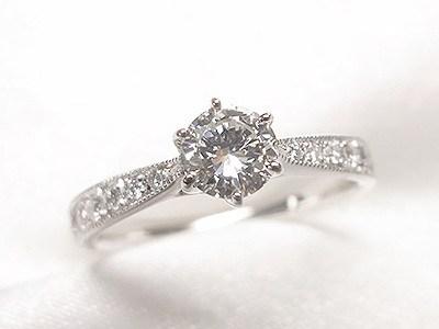 ご自分のダイヤモンドをお嫁さんへのエンゲージリングへリフォーム【神戸 元町】