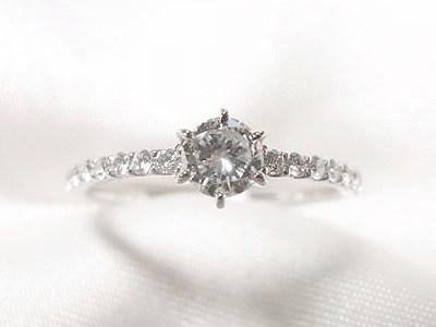 0.29ctダイヤモンドを華奢なエタニティ風リングへリフォーム【神戸 元町】