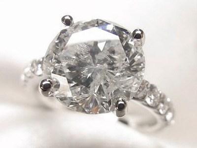 4ctダイヤモンドリングを華麗にリフォーム【神戸 元町】