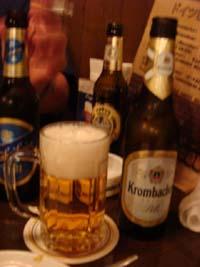 ドイツのビールを飲むんじゃあ by はぎちゃん