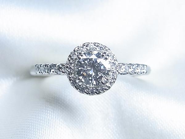 お母様の立爪ダイヤをご婚約指輪へリフォーム