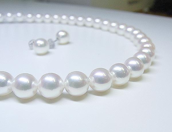 ご結婚されるお嬢様へ*アコヤ真珠ネックレスご注文【神戸 元町】