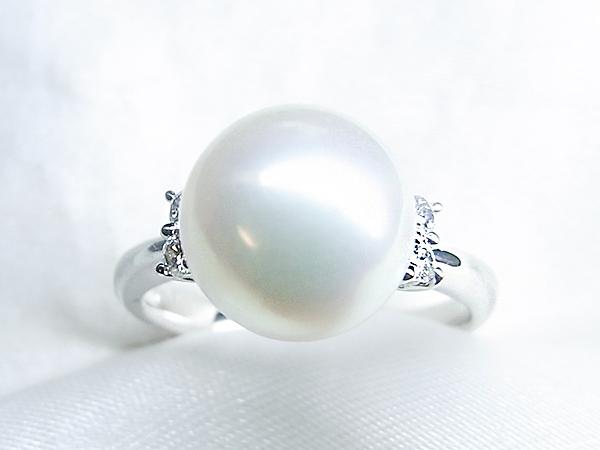 古い真珠リングをリフォームして2点の新しいリングに【神戸 元町】