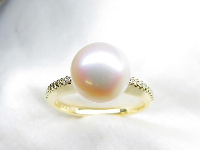 お義母様のダイヤと真珠を素敵にリフォーム【神戸 元町】