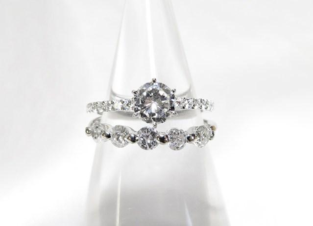綺麗なダイヤモンドを素敵なリングへリフォーム