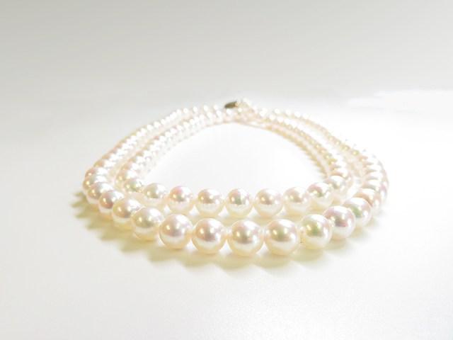東京からアコヤ真珠ネックレスのご注文