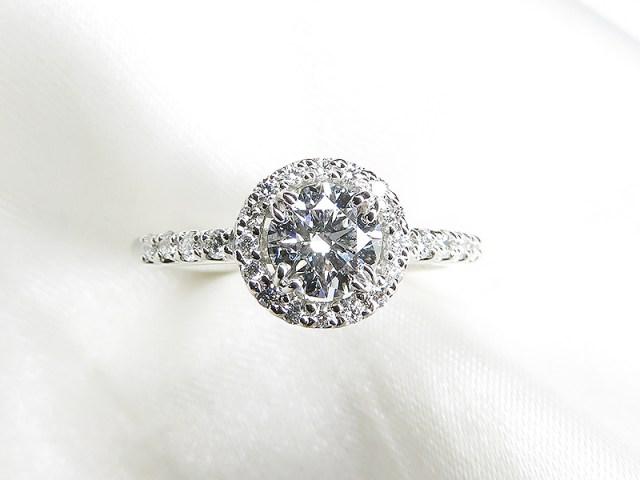 婚約指輪リフォーム*0.4ctダイヤモンド
