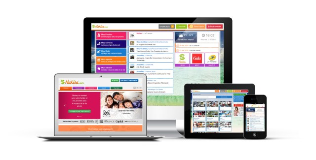Le hub Hakisa marche sur tous les supports et permet à tous les membre de la famille d'accéder facilement à internet