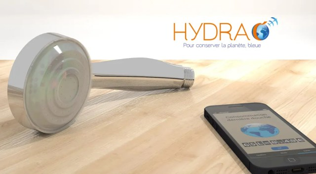 Hydrao la douche intelligente de votre smart home