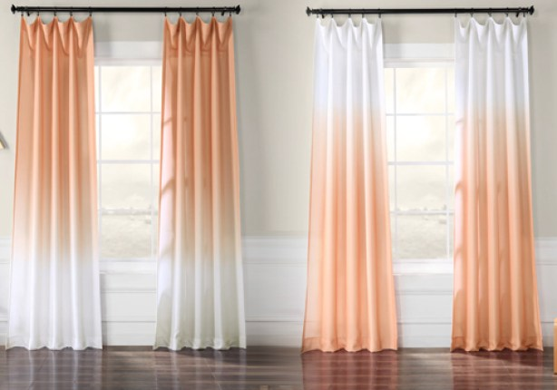 bright ombre curtains