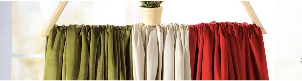 blackout velvet drapes
