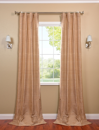 Accent a breakfast bar with the right drapes