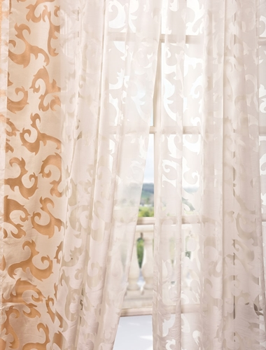 layering sheer curtains