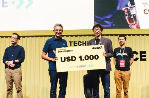 Halofina Menjadi 2nd Runner Up Pitch Battle Tech in Asia 2019