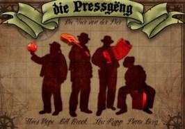 Die Vier von der Pier, Pressgeng, CD, Rezension