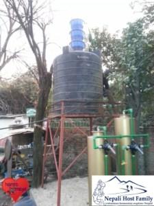 Wasserfilteranlage für das Grundwasser