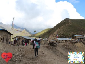 Auf dem Gipfel von Maurey Lek (über 3.800m)