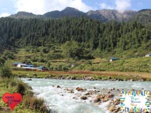 Das entlegene Dorf Kaigoan in Lower Dolpa