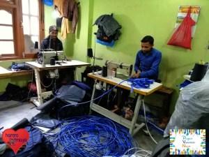 Unsere Produzenten bei der Arbeit. Stress sieht anders aus :)
