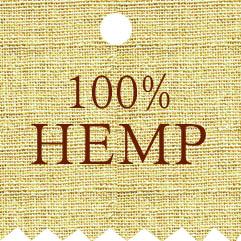Hemp bags & pouches label