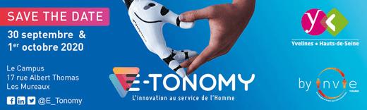 Read more about the article salon E-Tonomy les 30 septembre et 1er octobre sur le stand virtuel