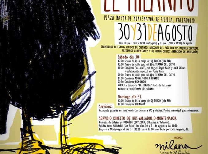 Cartel III Festival de la Cerveza Artesana - El Milanito