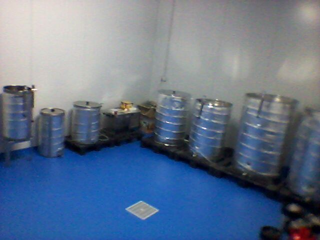 Sala de Fermentación Cerveza Artesana Exulans