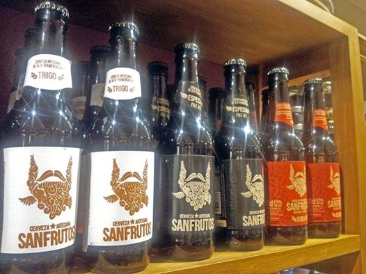 Variedades Cerveza Artesana Sanfrutos