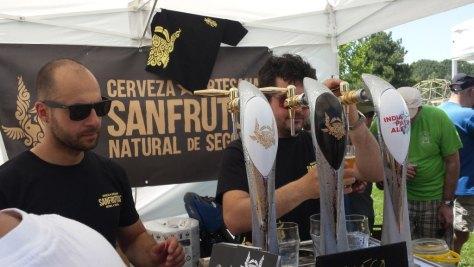 Cerveza San Frutos - Feria Sebulcor 2015
