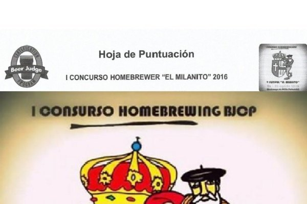 I Concurso Homebrewer El Milanito