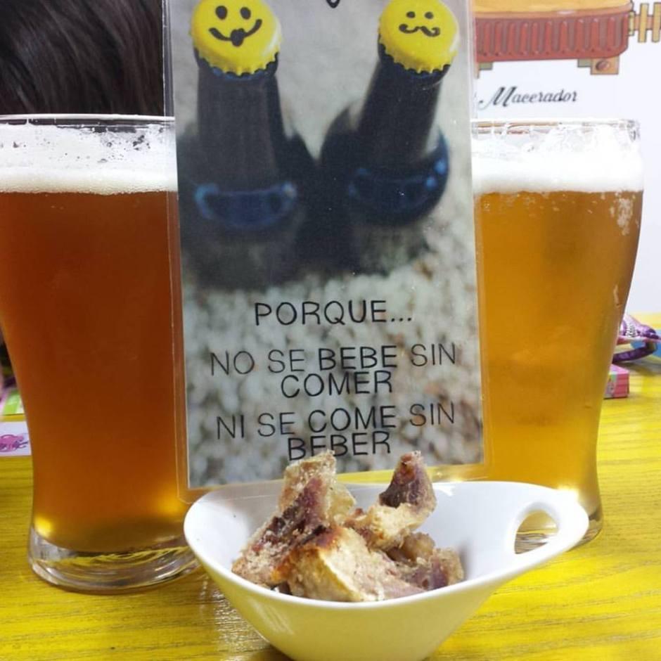 Cervezas Alegría Con Tapa