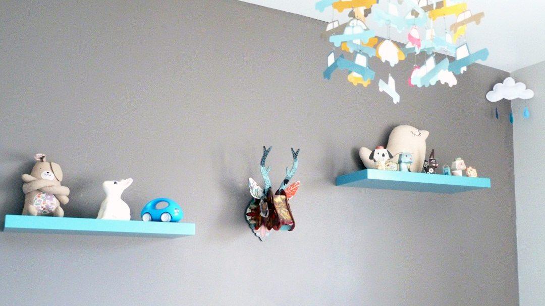 decoration de chambre de bebe jolie chambre du petit sasha With affiche chambre bébé avec deco table mariage fleurs naturelles