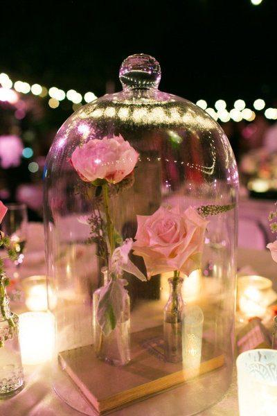 Diy un centre de table f rique de conte de f e - Decoration de mariage feerique ...