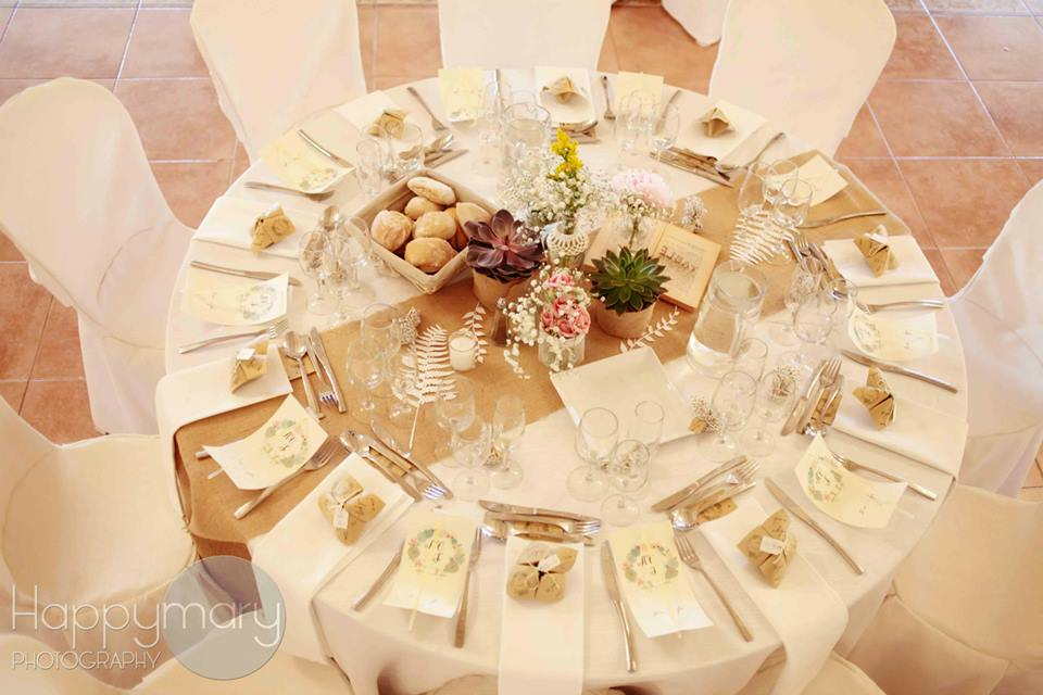 Notre mariage la d coration de table - Deco de table mariage ...