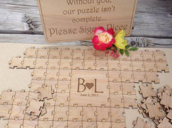 mariage un livre d 39 or puzzle. Black Bedroom Furniture Sets. Home Design Ideas