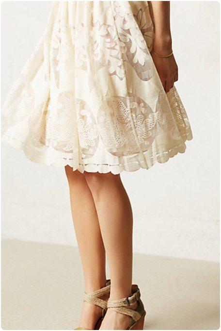 backless dress robe dos nu dentelle blanche. Black Bedroom Furniture Sets. Home Design Ideas
