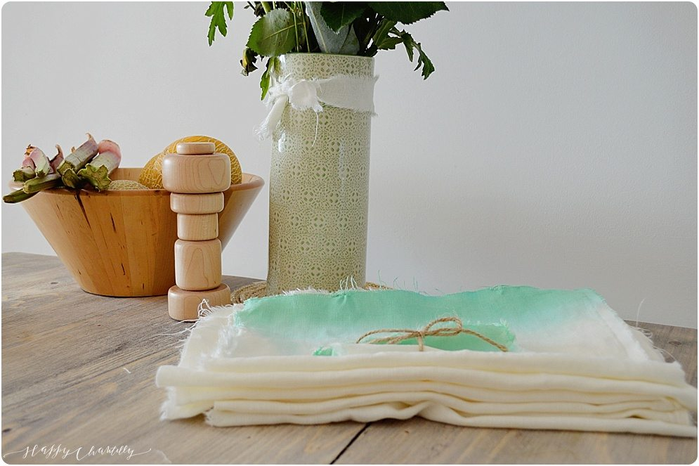 Diy set de table en lin et dip dye - Set de table en lin ...