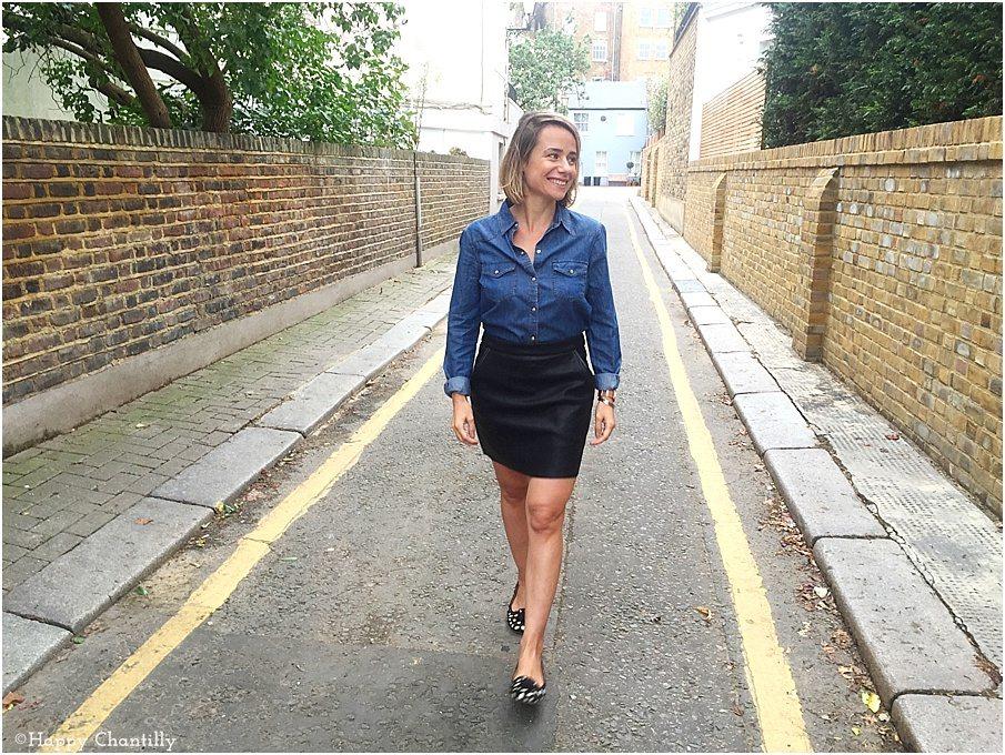 La jupe en cuir vegan - Happy Chantilly acfd8006d1b1