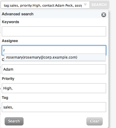 Advanced Search with Multiple Parameters