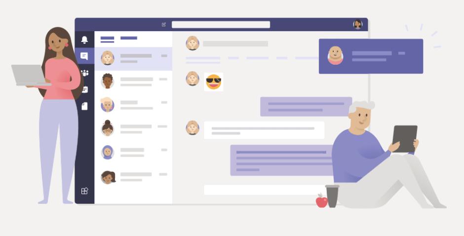 Slack vs Teams User Interface