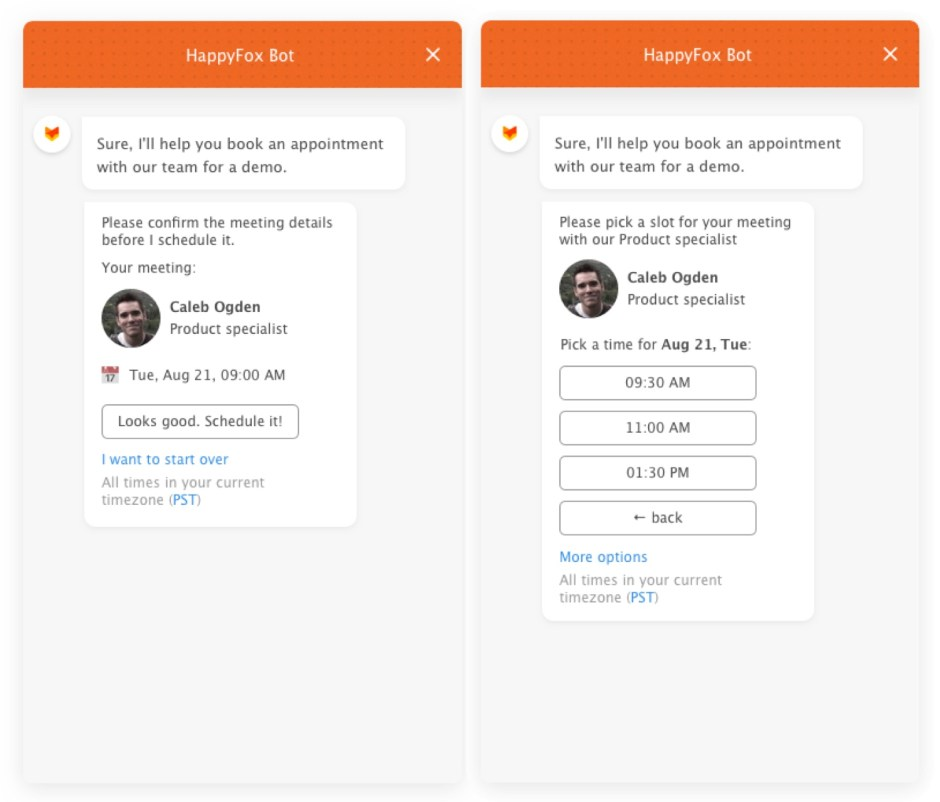 Leverage AI-powered automation with Chatbots