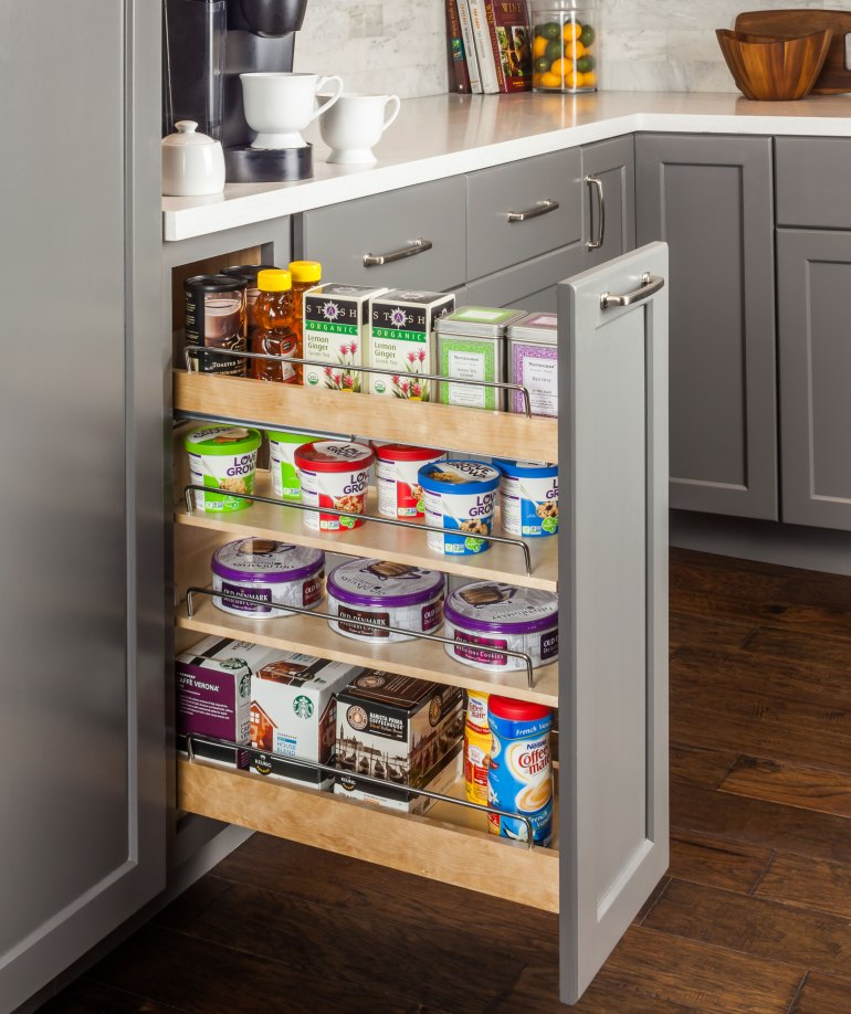 """""""No Wiggle"""" Base Cabinet Pullout"""